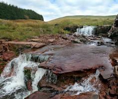 Receding Waterfall by nectar666