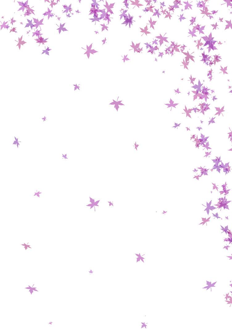 Purple Leafy Background by nectar666