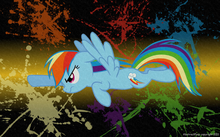 Rainbow Dash Wallpaper by Frost65