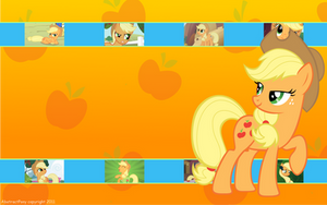 Applejack Wallpaper by Frost65