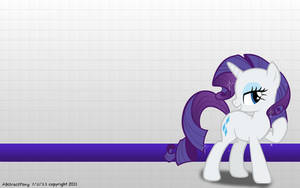 Rarity Wallpaper by Frost65