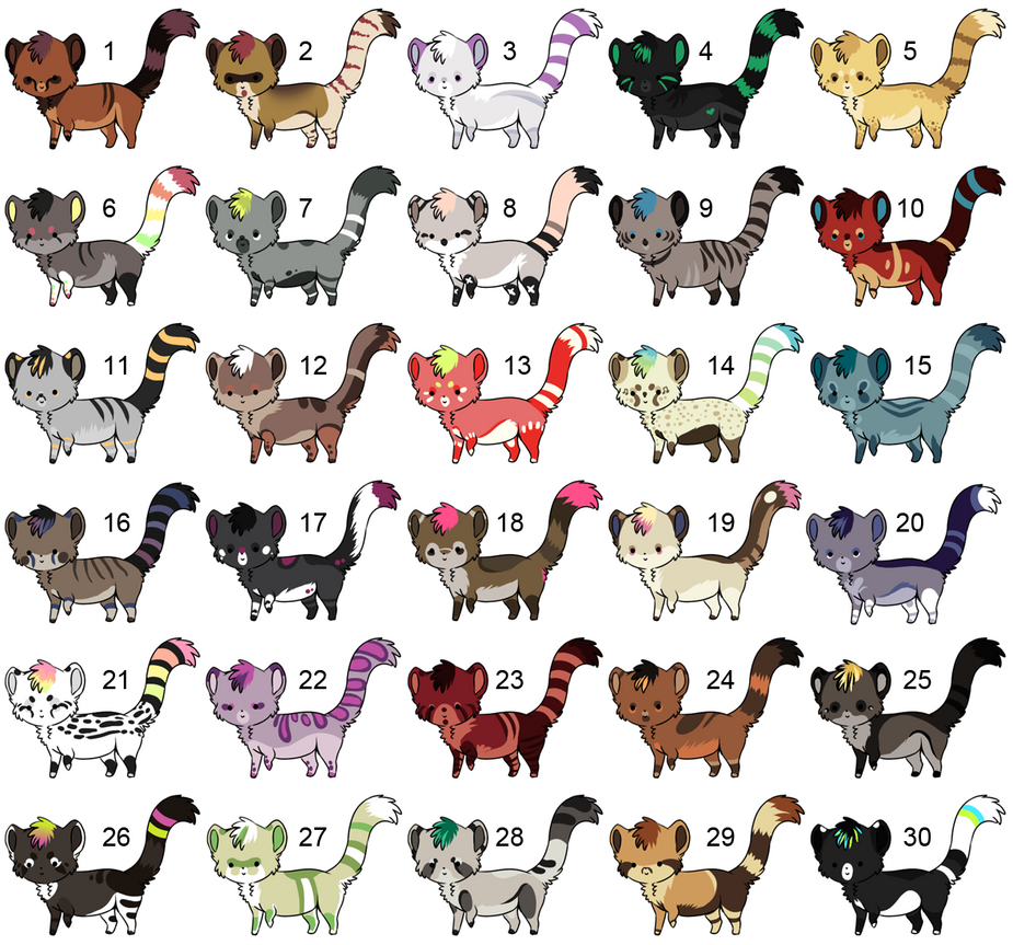 30 more derps (point adopts): OPEN by CitruShark