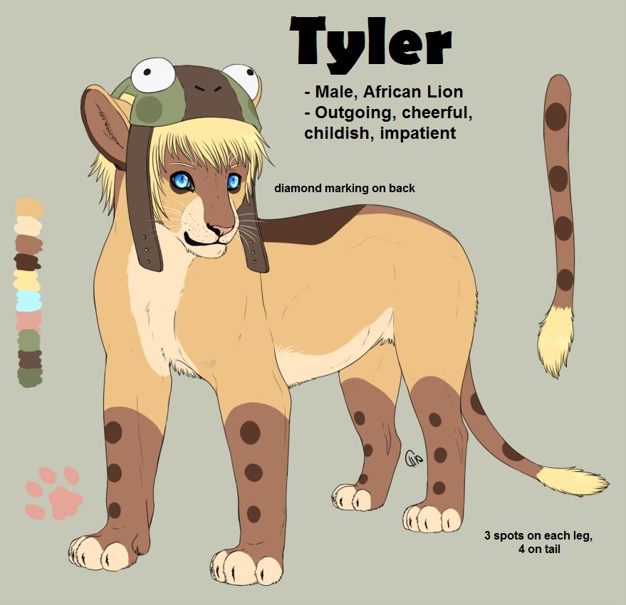 OC Refs: Tyler by CitruShark