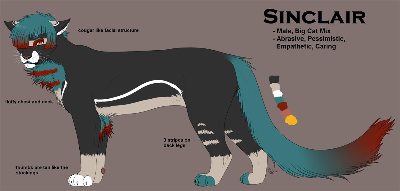 OC Refs: Sinclair by CitruShark