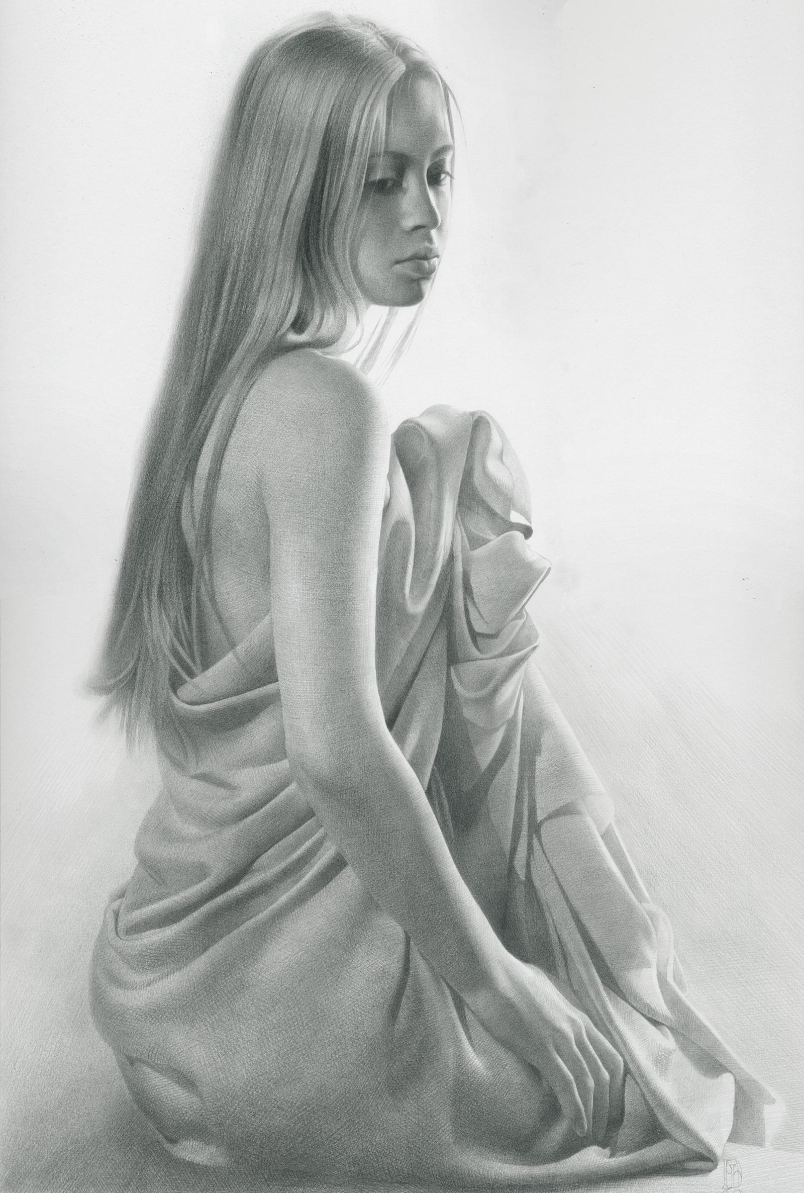Фото рисунков карандашом голых девушек 9 фотография