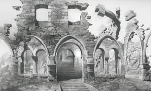 Allegory of Time III. Romanesque Temple, Uoroboros