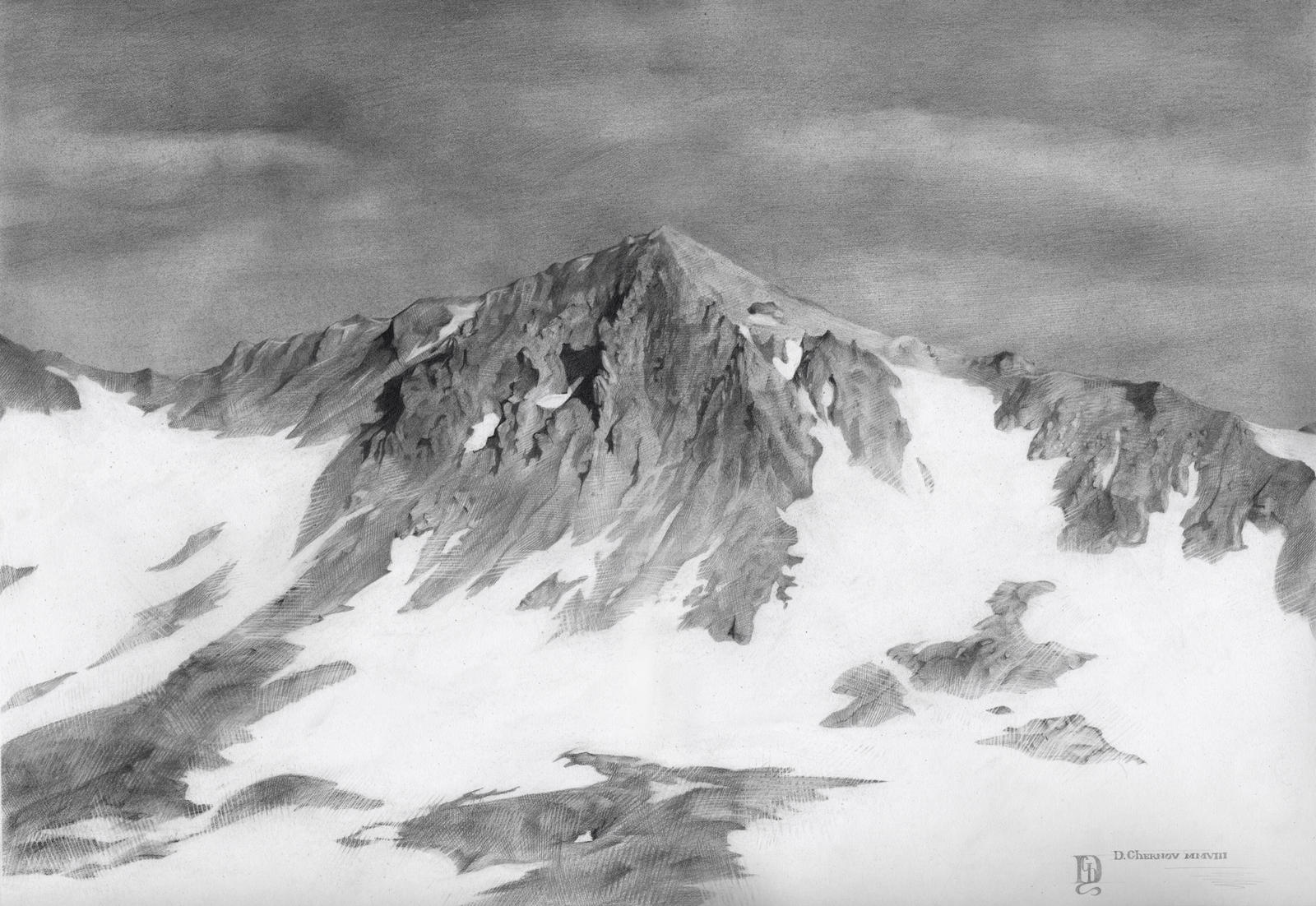 Snow Mountain by DChernov on DeviantArt