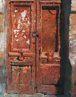 Saturn Red Door by DChernov