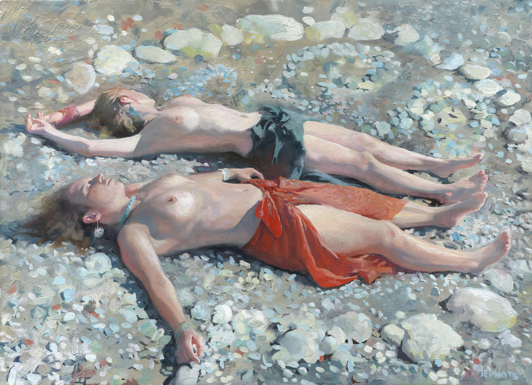 At the Beach by DChernov