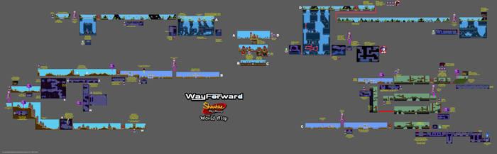 SPOILER ALERT: Risky's Revenge World Map