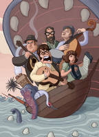 The Decemberists by Neanderthal-Jam