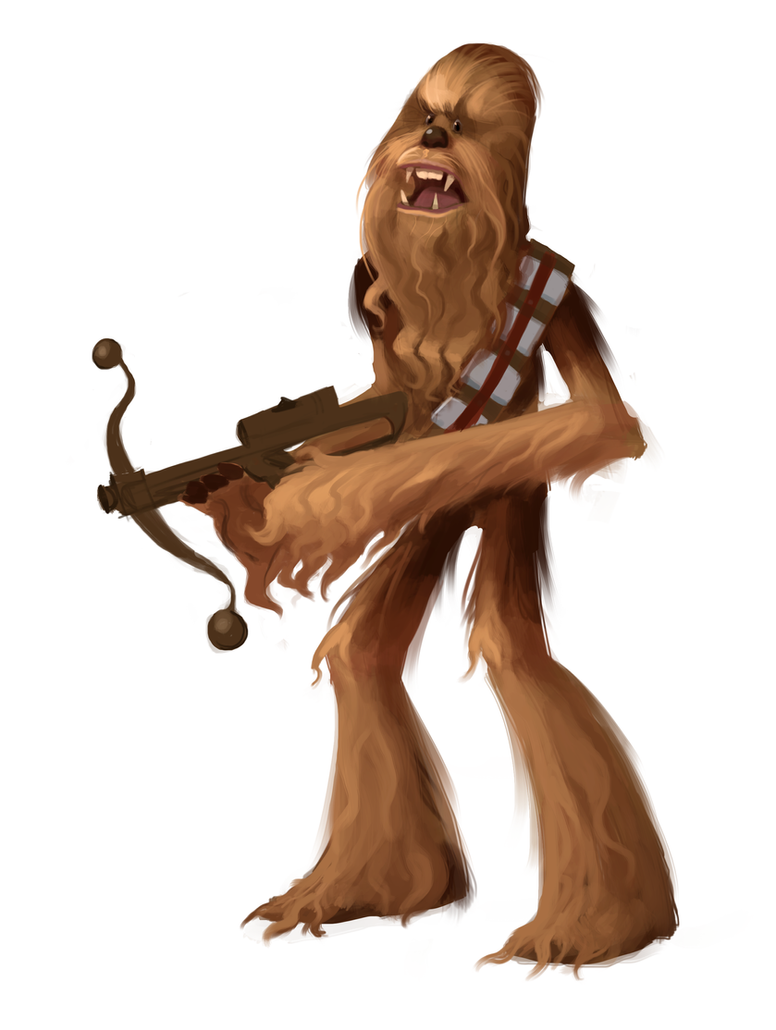 Chewbacca by Neanderthal-Jam
