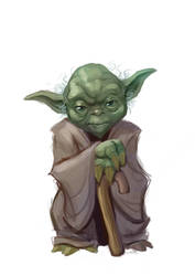Yoda by Neanderthal-Jam