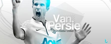 Van Persie - Man Utd by TAREK10