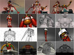 JETTER ROBOTs 3D Models by spacchiettino