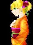 Half Body Kimono