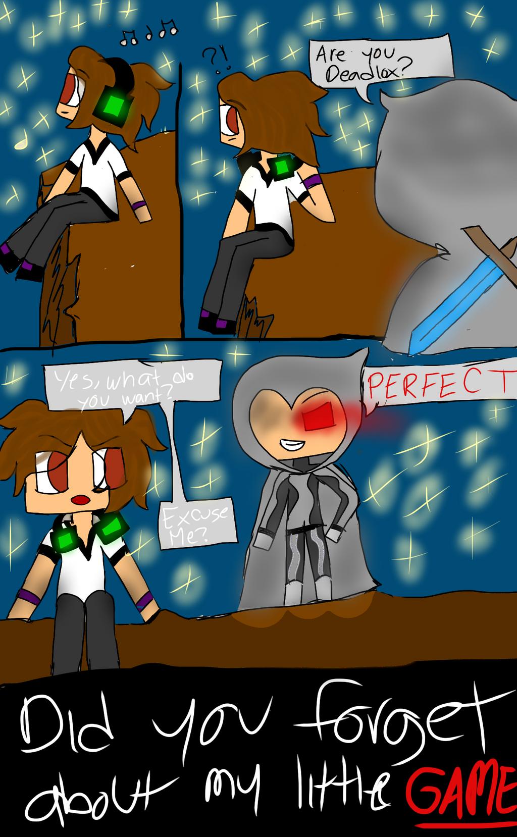 Minecraft Comic P. 1 by KikiFun