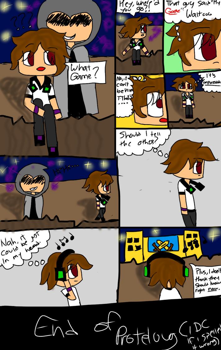 Minecraft Comic p. 2 by KikiFun