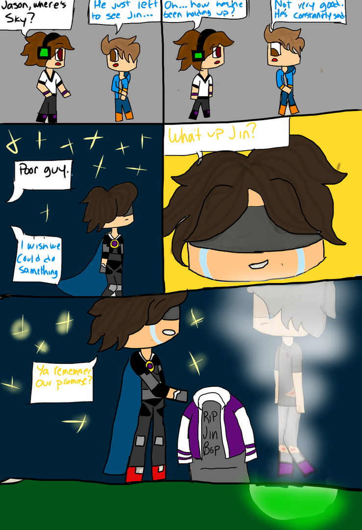 Minecraft Comic Pg. 1 Ch. 1 by KikiFun