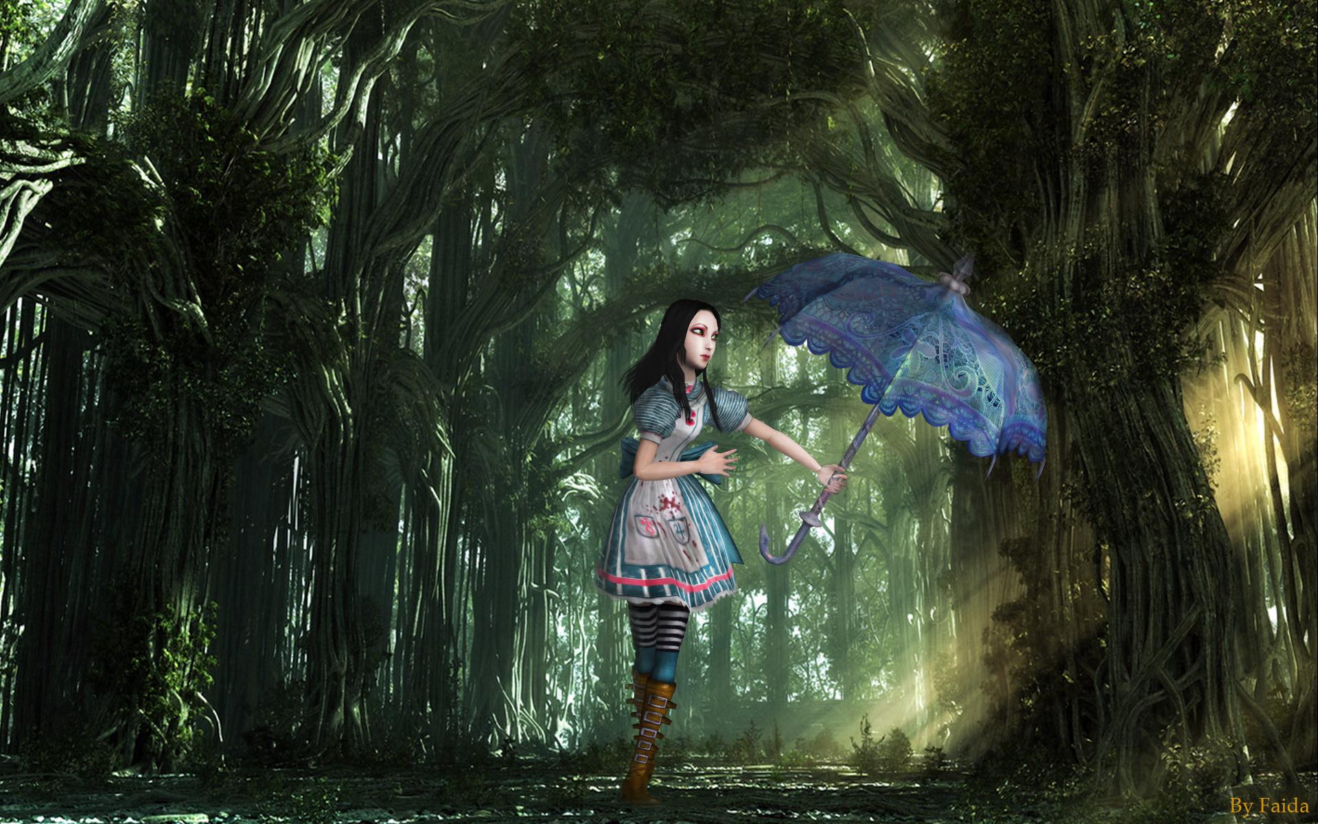 Alice Madness Returns Wallpaper By Faidali On DeviantArt