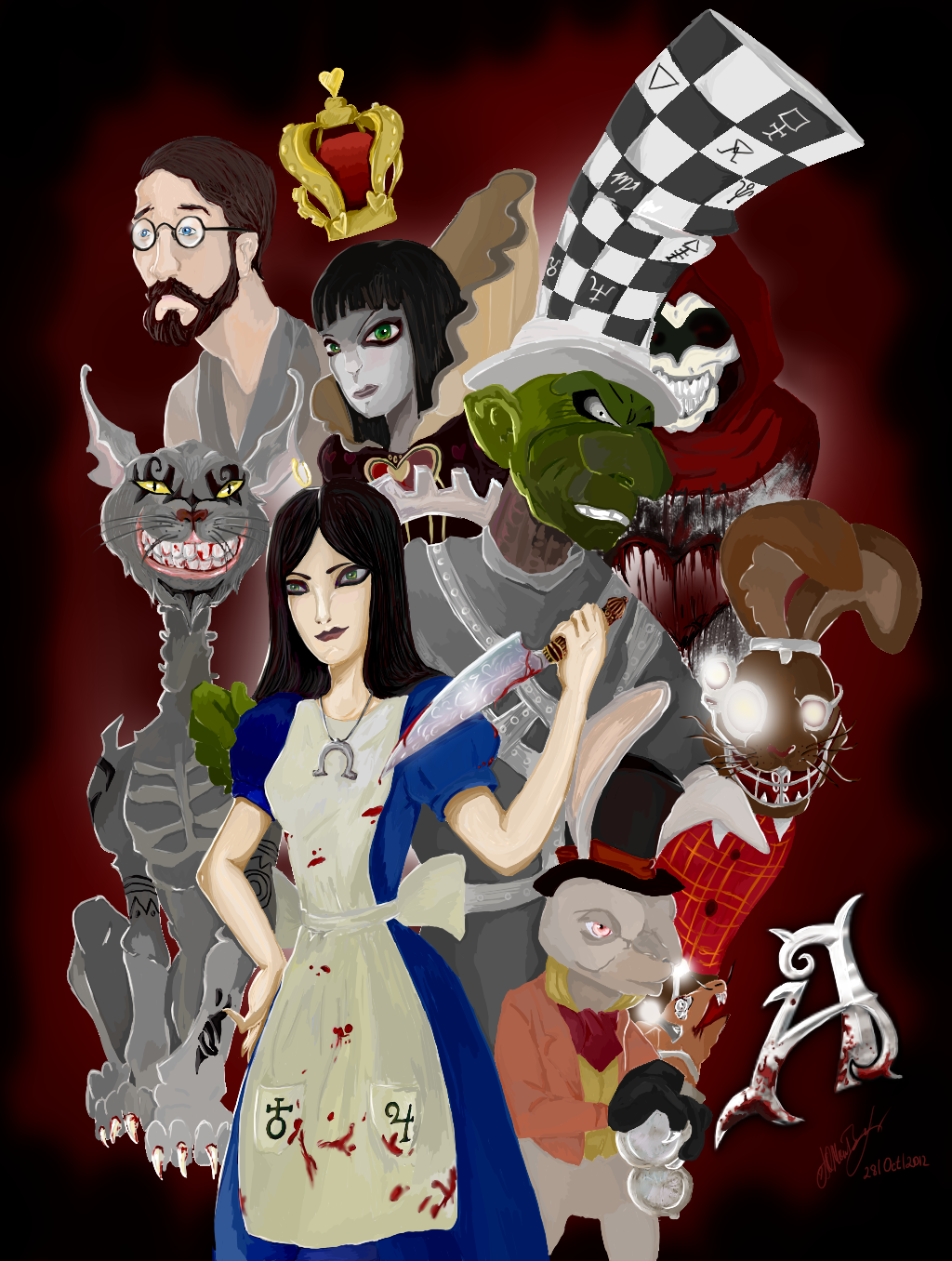 Alice Madness Returns ART by Faidali