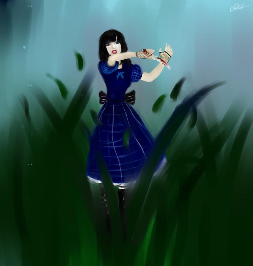 Alice Madness returns (Alice in artbook dress) by Faidali