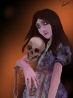 Alice Madness Returns Chinese dress by Faidali