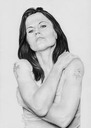 Dolores O'Rriordan The Cranberries D.A.R.K. by kswistak