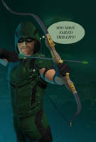 Arrow Stephen Amell by kswistak