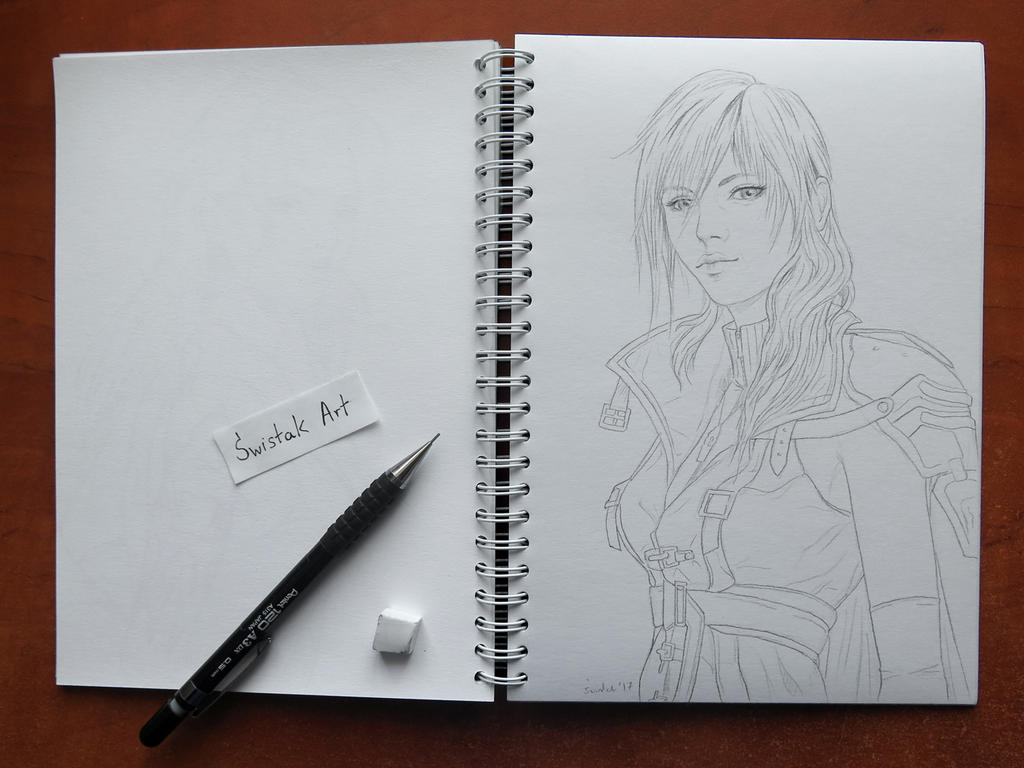 Lightning Final Fantasy XIII by kswistak