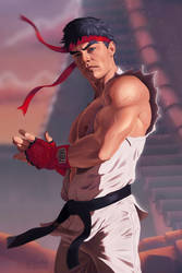 Ryu Street Fighter by kswistak