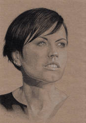 Dolores O'Riordan The Cranberries by kswistak
