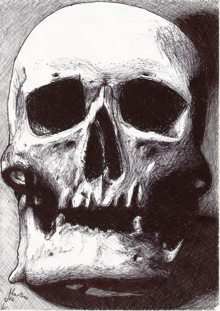 Skull by kaorukh