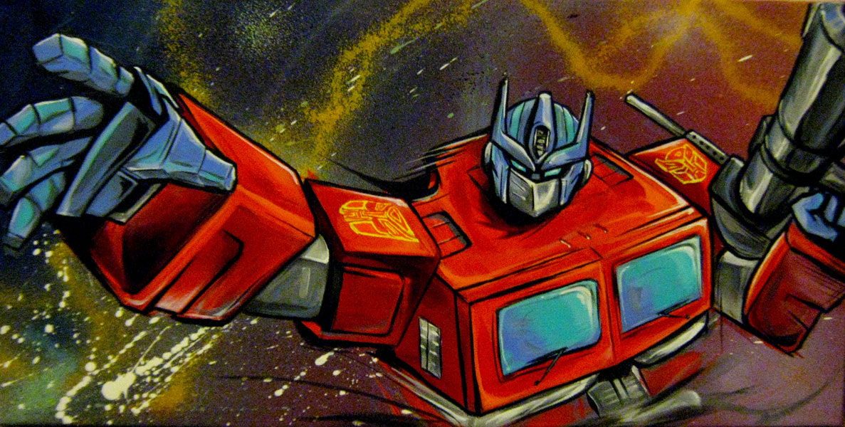 optimus by Lopan4000