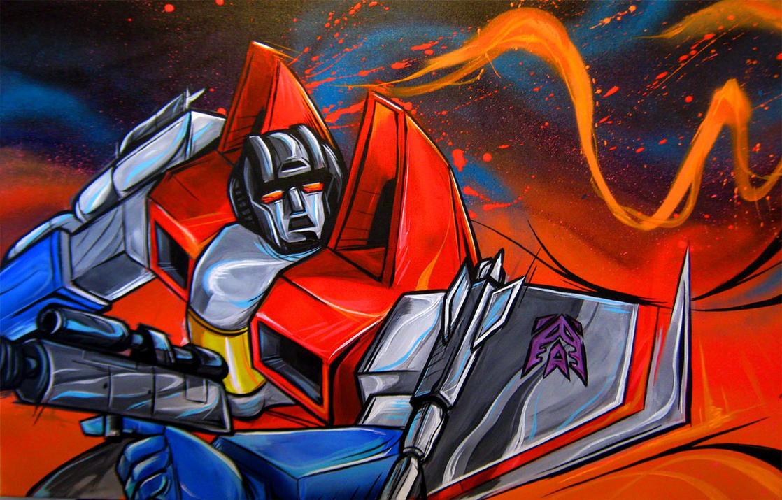 starscream by Lopan4000