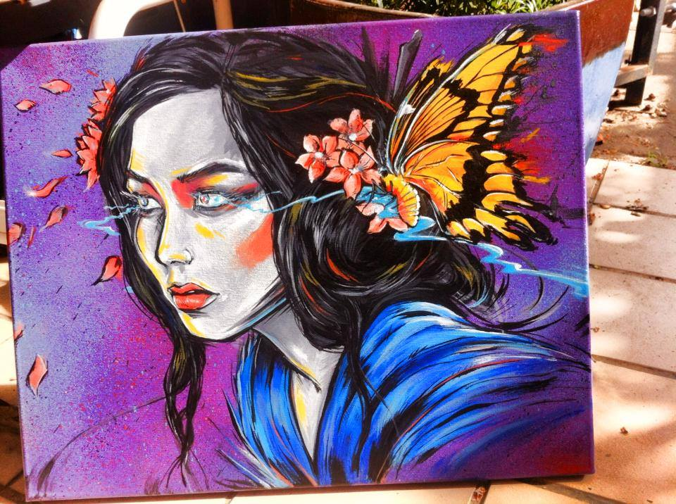 geisha girl by Lopan4000