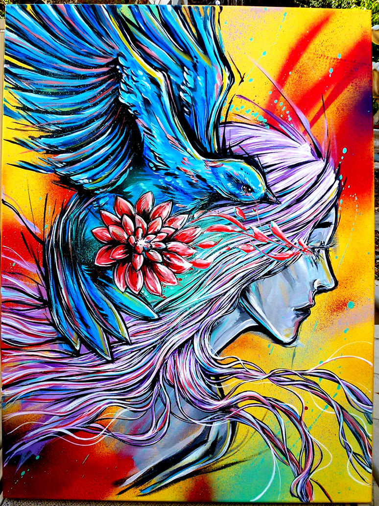 bird hair by Lopan4000