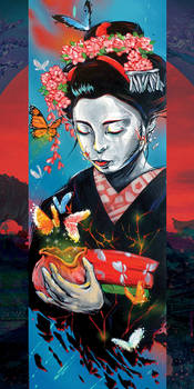 butterfly geisha