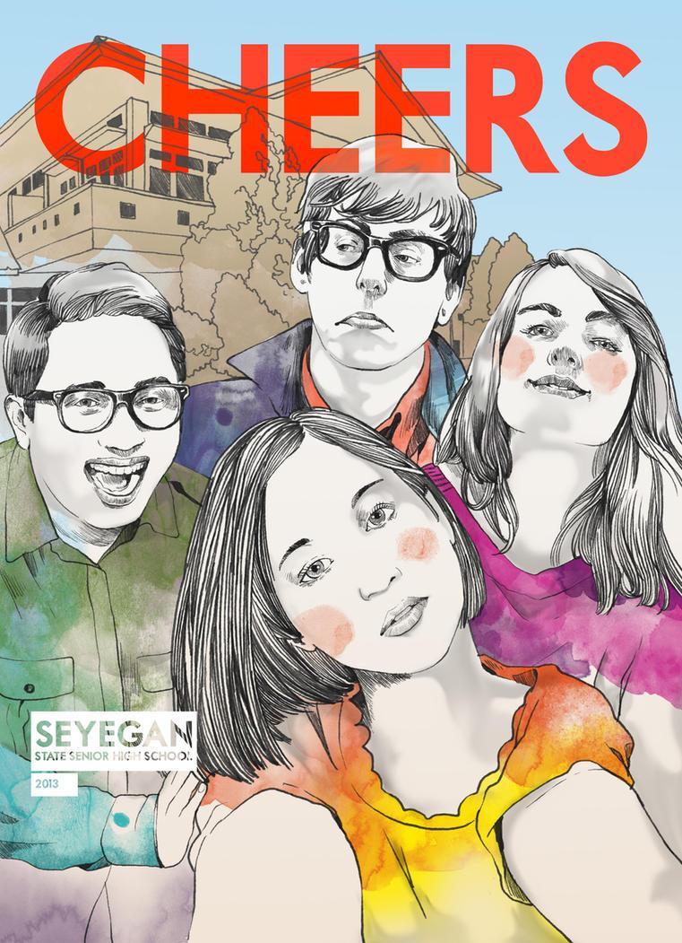 Cover Buku Tahunan Sayegan by abankirenk