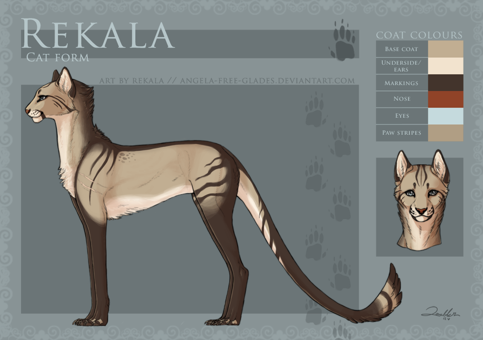 Rekala - Feline Form - 2012 by RekalaRain