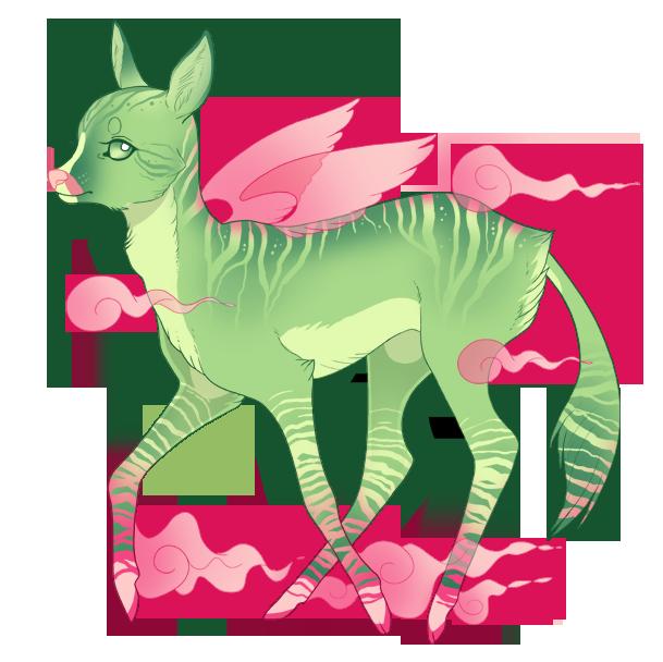 Spirit Fawn 01 - Adoptable [OPEN] by RekalaRain