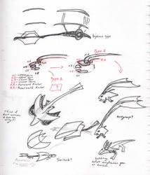 Basics of biplane-based animals