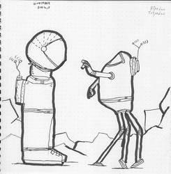 Inktober:  Meeting