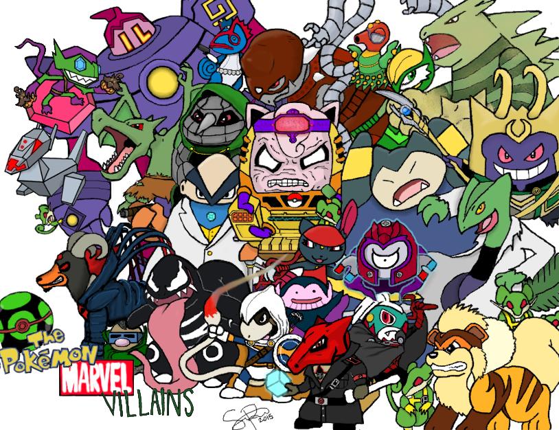 Marvel Pokemon Villains By Seanperez671 On DeviantArt