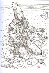 Moebius' Space Digger by imick