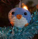 Penguin Ornament by Latenium