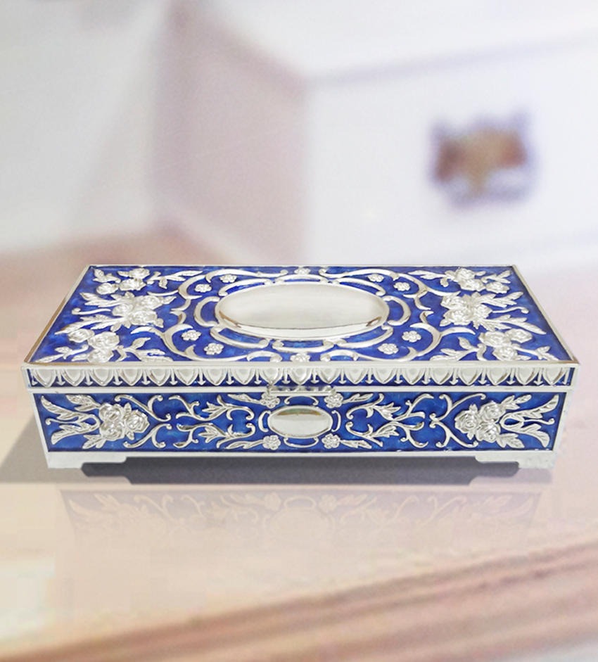 jewelry box blue colour home decor gifts by thedivineluxurygifts on