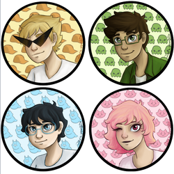 Profile Pics Alpha Kids by darksquishy