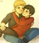 Destiel Cuddles