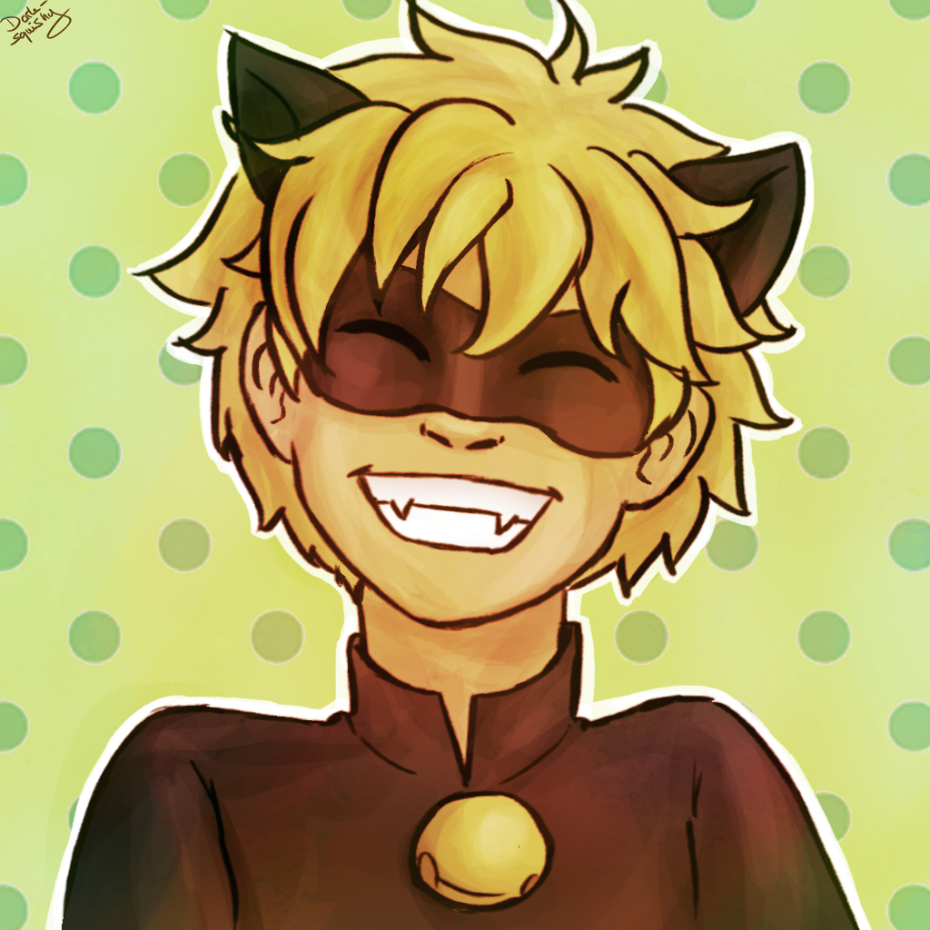 It's just a photo of Resource Chat Noir Drawing